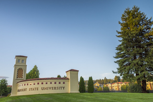 Humboldt State University gates